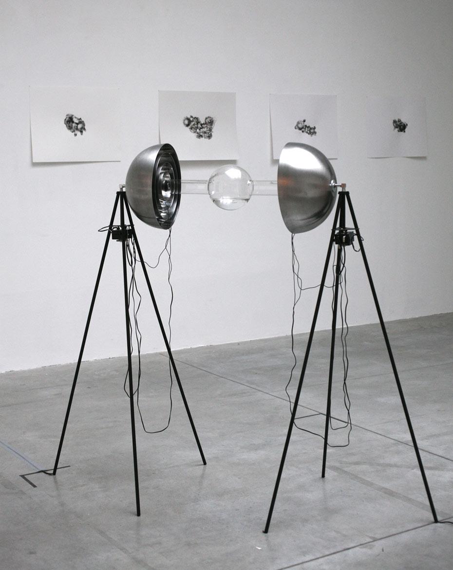 parabols-1-galerie anne de Villepoix-Charlotte Charbonnel